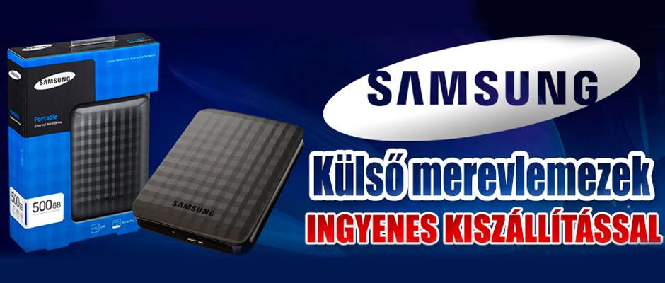 Samsung külső merevlemez