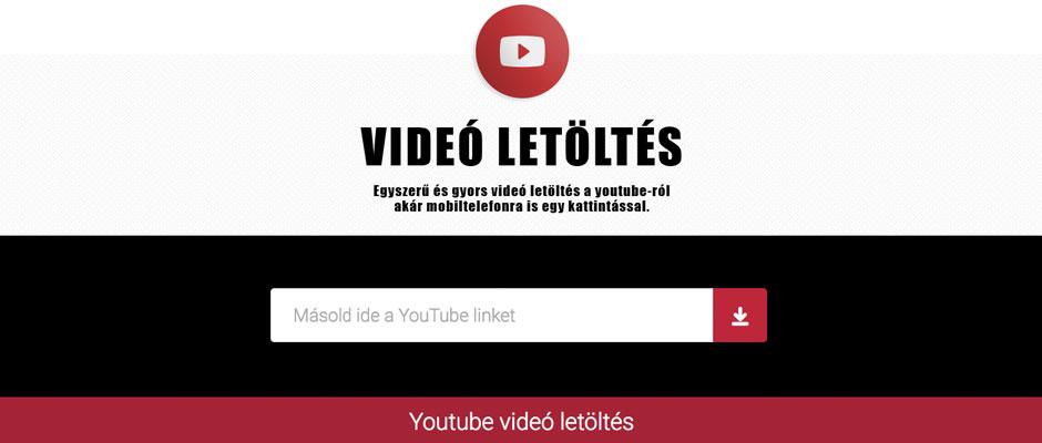 Youtube letöltő